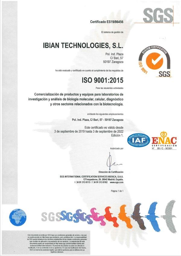 ISO 9001 IBIAN